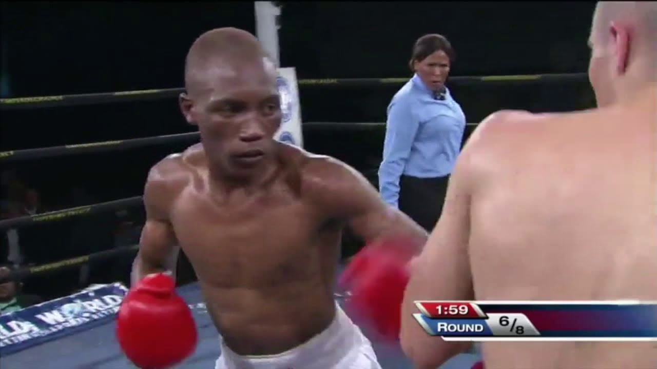 Download Dee-jay Kriel vs Thembalani Okolo Highlights- Boxing