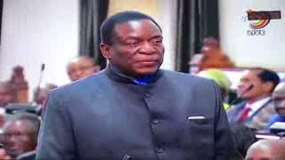 Nelson Chamisa destroys Mnangagwa over Grace (File)