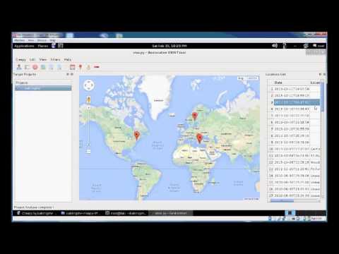 cree.py v1.1 Geolocation OSINT tool tutorial