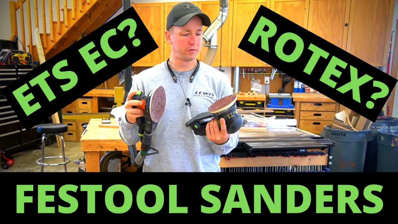 Festool ROTEX VS ETS SANDERS | Buying Mistakes I Made & What You Need to Know Before Buying a Sander