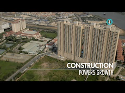 """Construction Powers Growth"" / i-Profile: CAMBODIA – A New Economic Frontier"