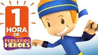 ¡1 Hora con Pequeños Héroes! - animados y canciones infantiles