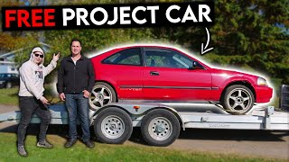 homepage tile video photo for MY SUBSCRIBER Gave Me His CRAZY PROJECT CAR!