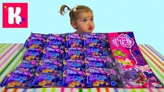 Май Лит Пони пакетики с игрушкой сюрприз распаковка My Little Pony surprise blind bags with toys