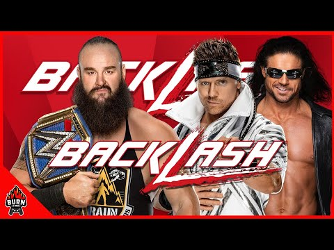 WWE 2K20 BRAUN STROWMAN VS THE MIZ & JOHN MORRISON - BACKLASH