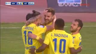 ΑΟ Κέρκυρα - Αστέρας Τρίπολης 1-3