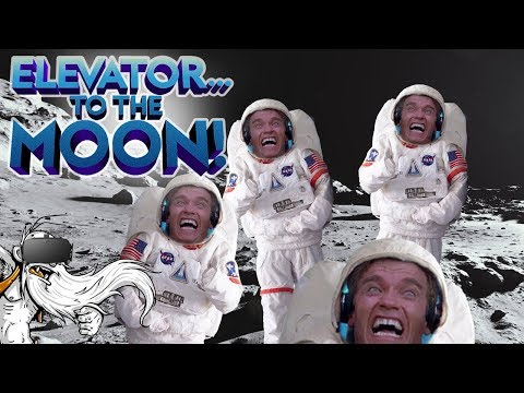 Elevator To The Moon VR Gameplay  THE ARMY OF SPACE ARNOLDS!!! Virtual Reality Lets Play
