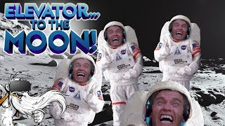 """Elevator To The Moon VR Gameplay - """"THE ARMY OF SPACE ARNOLDS!!!"""" Virtual Reality Let"""