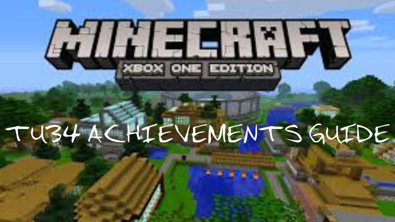 how to get every achievement in minecraft xbox one