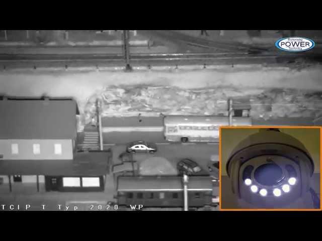 Az adaptív IR funkció bemutatása Techson IP PTZ kamerán