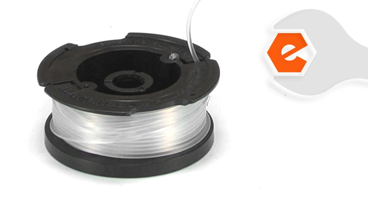 String Trimmer Repair - Installing the Auto-Feed Spool (Black ...