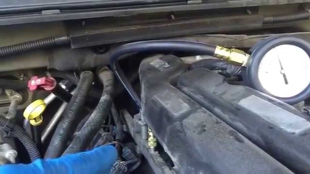 2007 Chevy Suburban hard to start and low fuel rail ...