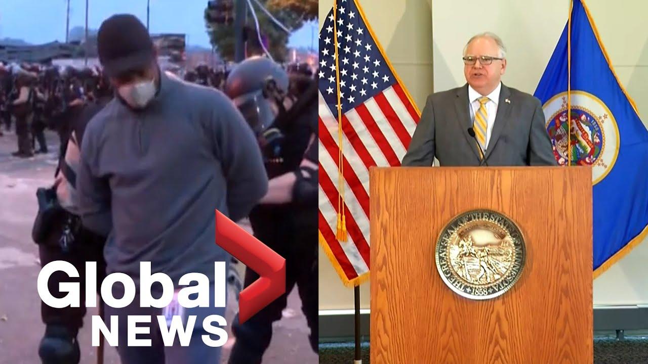 Minnesota governor apologizes for arrest of CNN's Omar Jimenez ...
