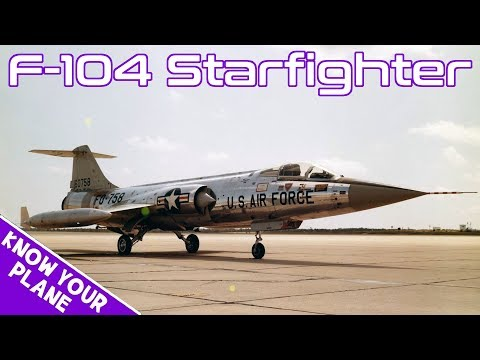 Know Your Plane #2 | Lockheed F-104 Starfighter