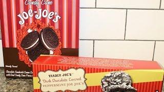 Trader Joe's Candy Cane Joe-joe's & Dark Chocolate Covered Peppermint Joe-joe's Review