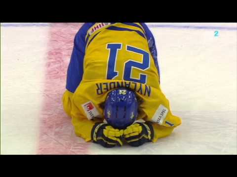 JVM 2016 - Tacklingen på William Nylander