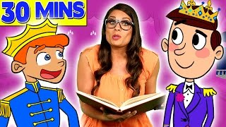Ms. Booksy Meets the Prince! - Story Time with Ms. Booksy | Cool School Compilation