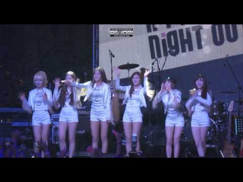 130524 AOA at Music Matters Live 2013 - Introducing in English