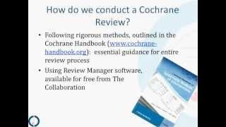 CCC The steps of a Cochrane Review, an overview with John K. MacDonald