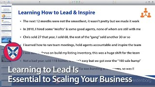 Learning to Lead Is Essential to Scaling Your Business