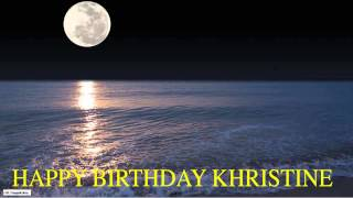 Khristine  Moon La Luna - Happy Birthday