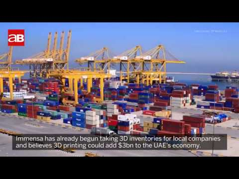 Is 3D printing about to change the Middle East's busiest port?