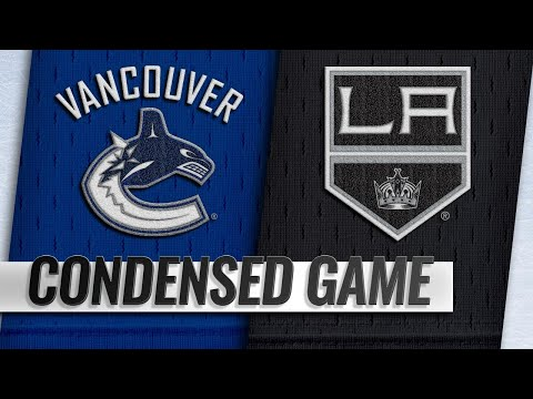 02/14/19 Condensed Game: Canucks @ Kings
