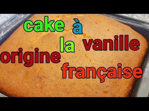 recette-cake-à-la-vanille-délicieuse