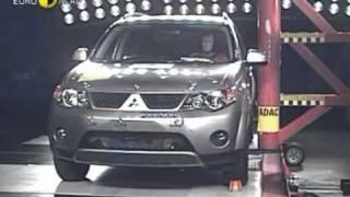 Краш-тест - Mitsubishi Outlander 2007 E NCAP ADAC