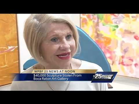 $40,000 sculpture stolen from Boca Raton art gallery