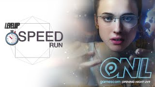 SPEEDRUN: Resumen de gamescom Opening Night 2019