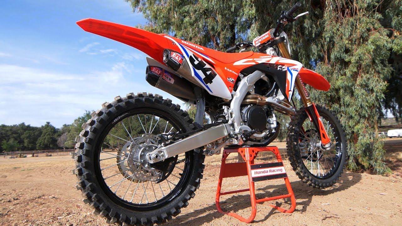 2019 Honda Crf450r Works Edition Dirt Bike Magazine Youtube