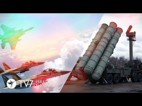 Israel will strike S-300, if it is used against Israeli fighter-jets - TV7 Israel News 25.04.18