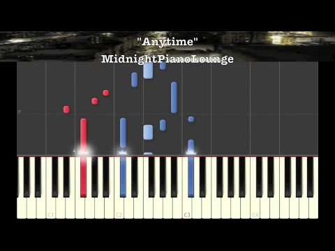 ♫ Anytime by Brian McKnight Piano Tutorial In Bb Minor ♫