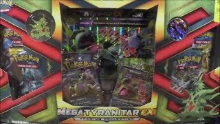 Pokemon Mega Tyranitar EX Premium Collection Box Opening