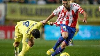 Video Gol Pertandingan Villarreal vs Sporting Gijon