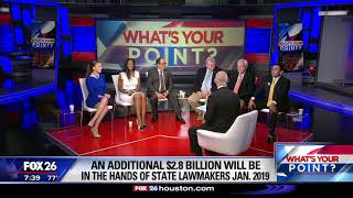 What's Your Point? - Spending state money