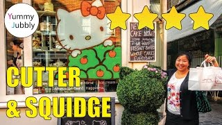 CUTE LONDON CAFE, Hello Kitty Secret Garden at Cutter and Squidge - London Soho