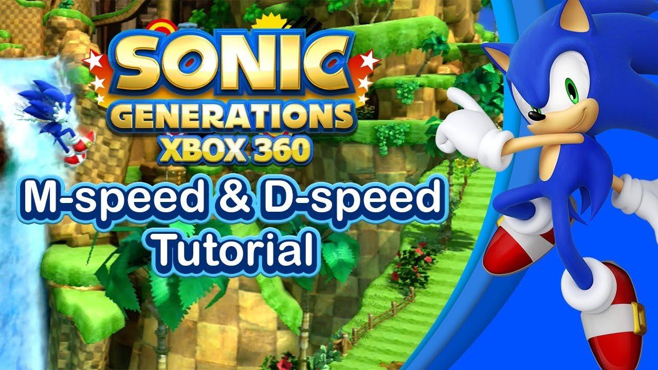 Sonic Generations Modern M-speed & D-speed Tutorial