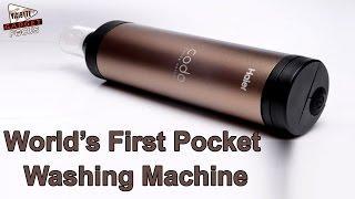 Haier Unveils World's First Pocket Washing Machine
