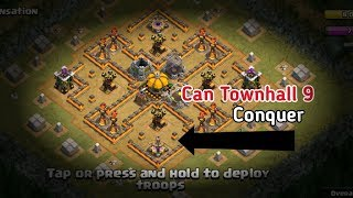 Townhall 9 VS - Burning Sensation Conquer the Goblins #EP1 - Clash Of Clans