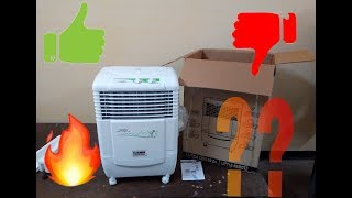 Kenstar little cooler...air cooler || Unboxing and Review