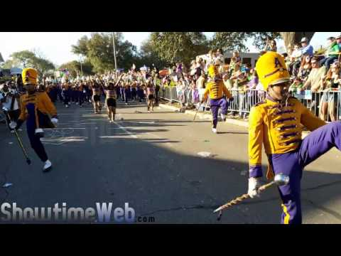 Alcorn State Marching Band - 2017 Mardi Gras Parade