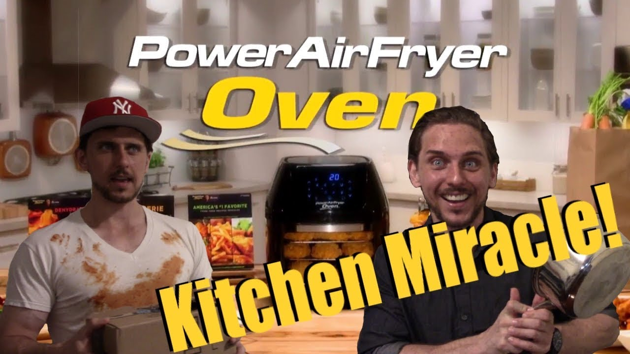 Eric Theiss Is A Mad Lad The Power Air Fryer Oven Youtube