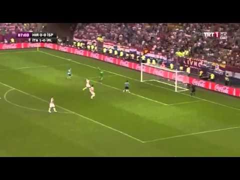 Croatia - Spain 0-1 Goal Jesus Navas EURO 2012 18.06.2012.