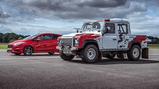 Top gear Land Rovers