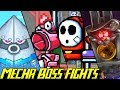 Evolution of Mecha Boss Battles in Mario Games (1993-2017)