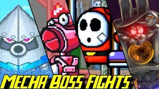 Evolution of Mecha Boss Battles in Mario Games (1993-2017)
