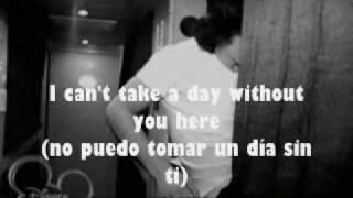 When you look me in the eyes Jonas Brothers (lyrics y traducción)