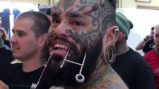Emilio Gonzalez y Red Skull en TRANSILVANIA TATTOO EXPO 2017